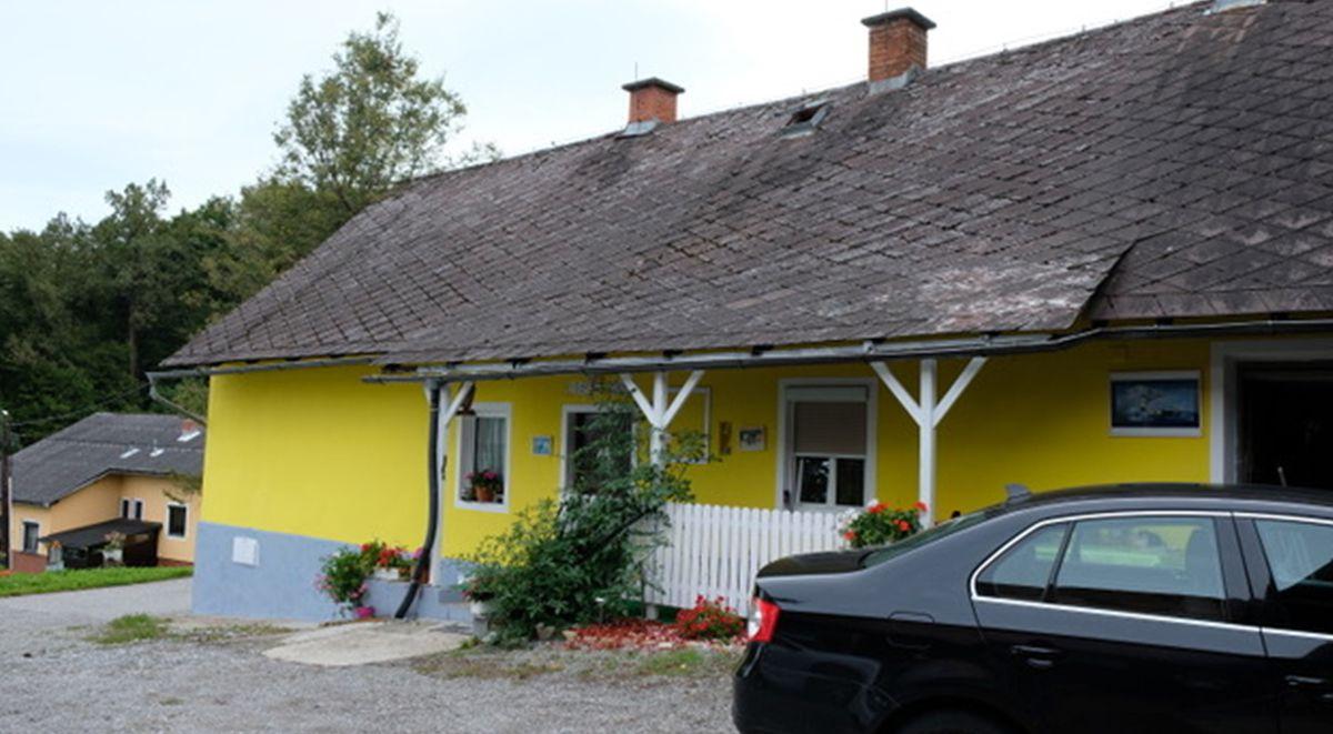 The farmhouse today.