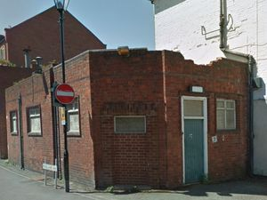 The disused toilet at St Julian's Friars. Picture: @Google Streetview