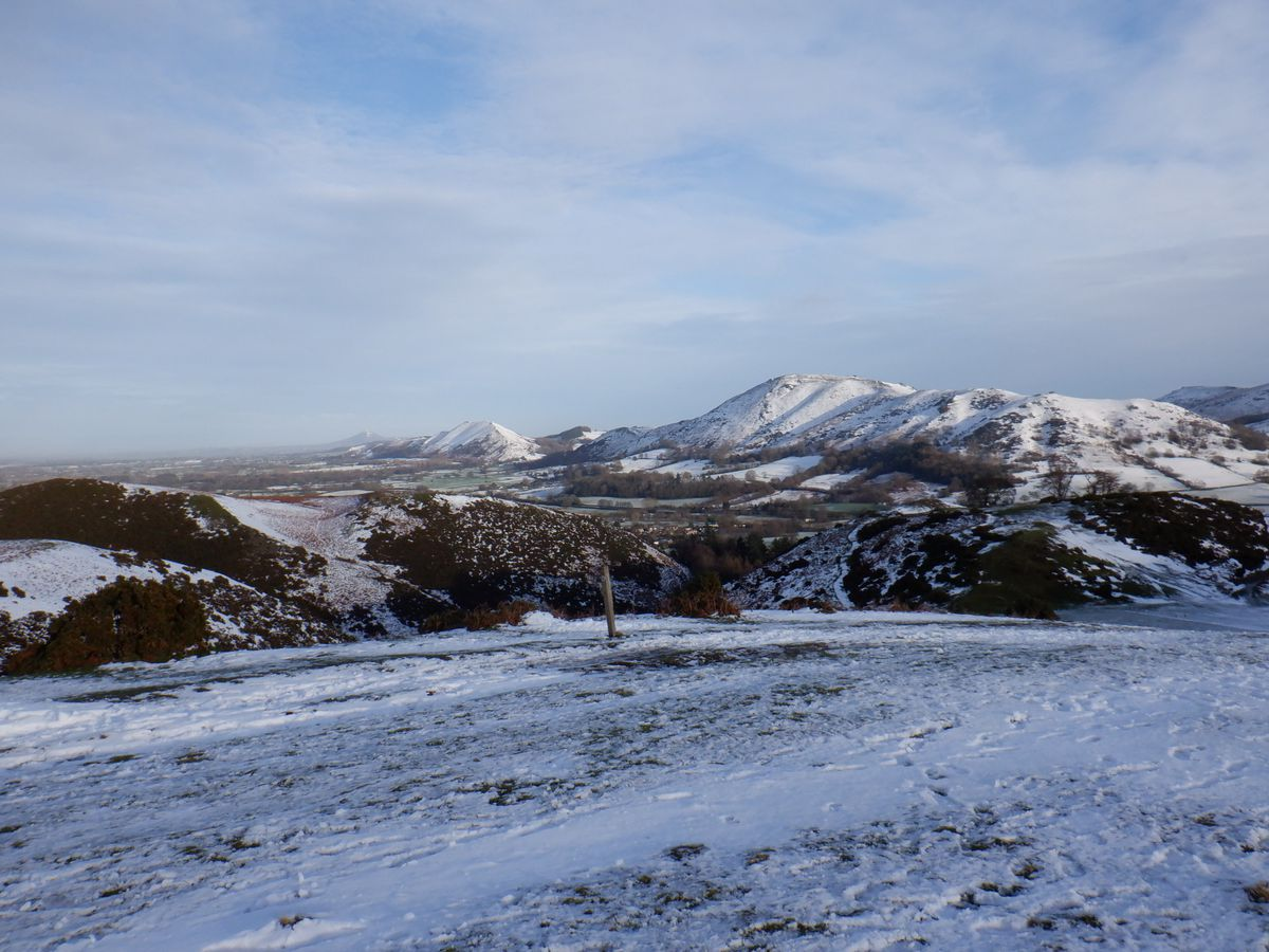 View from The Long Mynd Golf Course. Pic: Andrew Rudge.