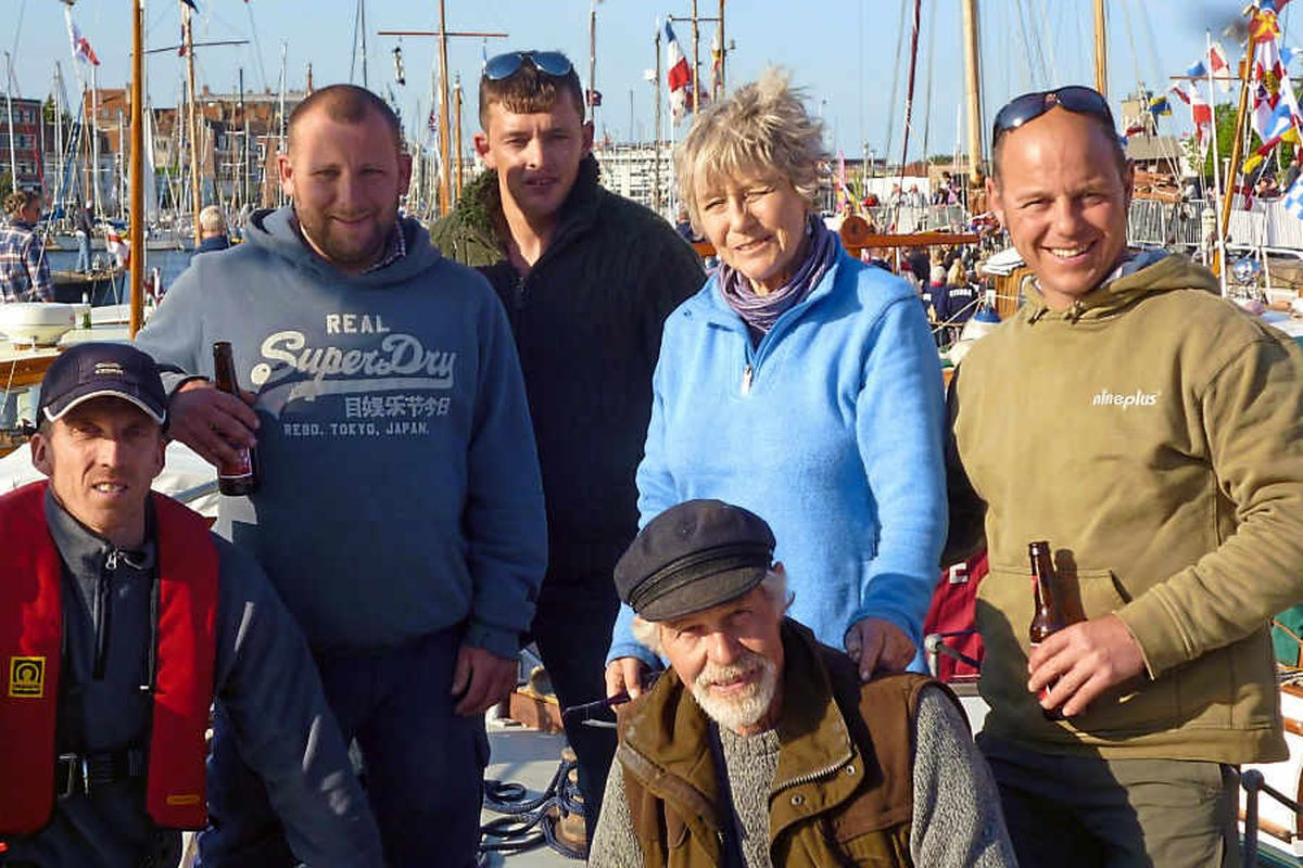 Shropshire's David has proud Dunkirk day after restoring £30,000 cruiser