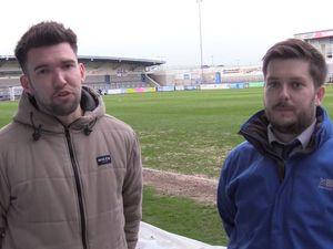 Richard Fletcher and Jonny Drury