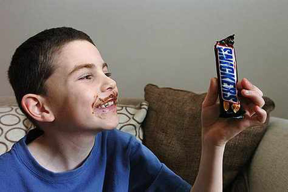 Cured - The boy who couldn't eat chocolate