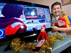 Whitchurch youngster Harry stars in Argos Christmas TV advert - with video