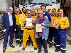 Solidarity sent 10,000 miles from Shropshire firefighters to volunteers battling bush fires in Australia