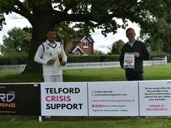 Wellington cricket club supports food drive