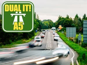 The A5 through Shropshire