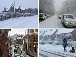 Heavy snow causes chaos in Shropshire - and there's more on the way