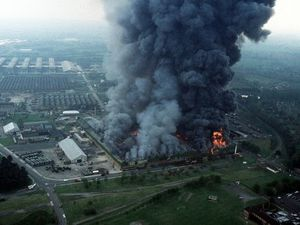 The COD Donnington fire in 1983