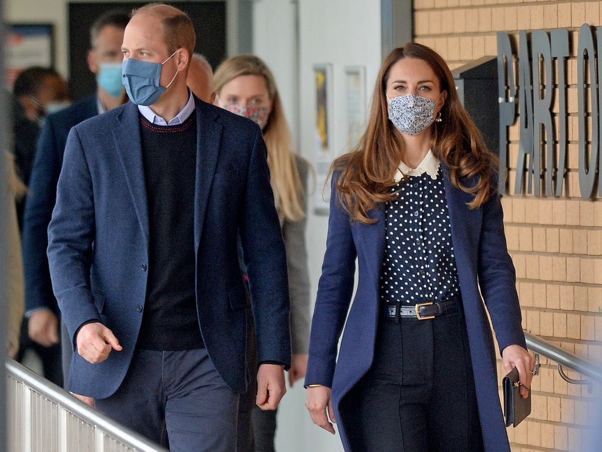 The Duke and Duchess of Cambridge visited The Way Youth Zone in Wolverhampton