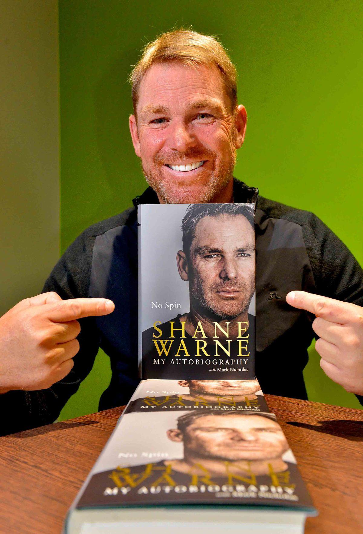 Shane Warne in Shropshire