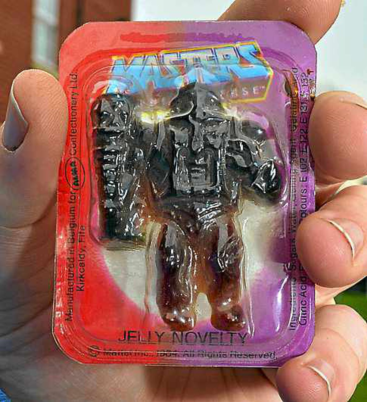 The 30-year-old He-man jelly sweet