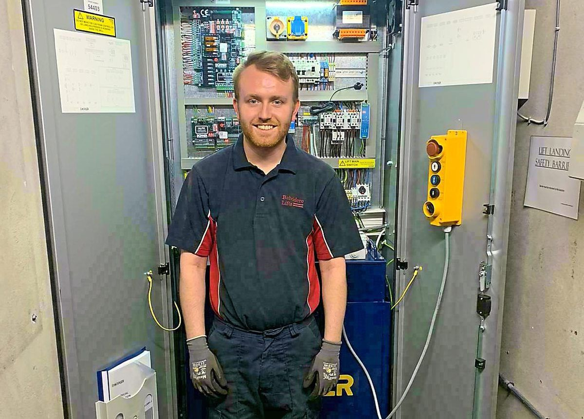 Will Nankivell has recently qualified as an engineer after completing his apprenticeship.