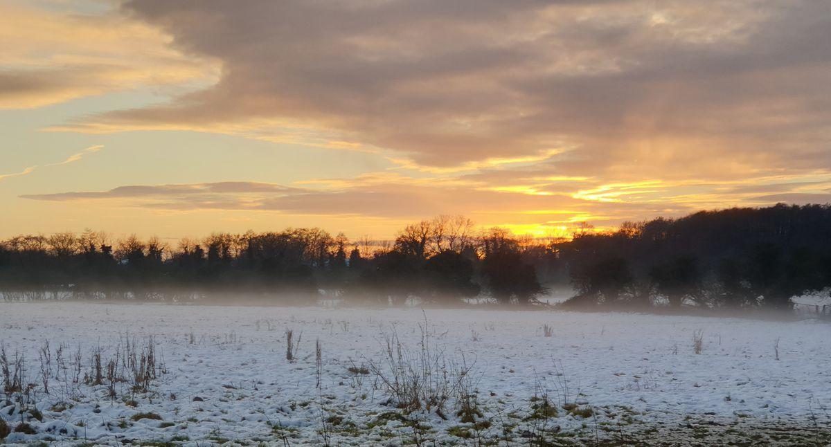 Snow in Perton, South Staffordshire. Photo: simonb4937