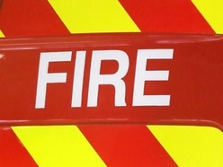 Crews tackle wood and rubbish fire near Telford