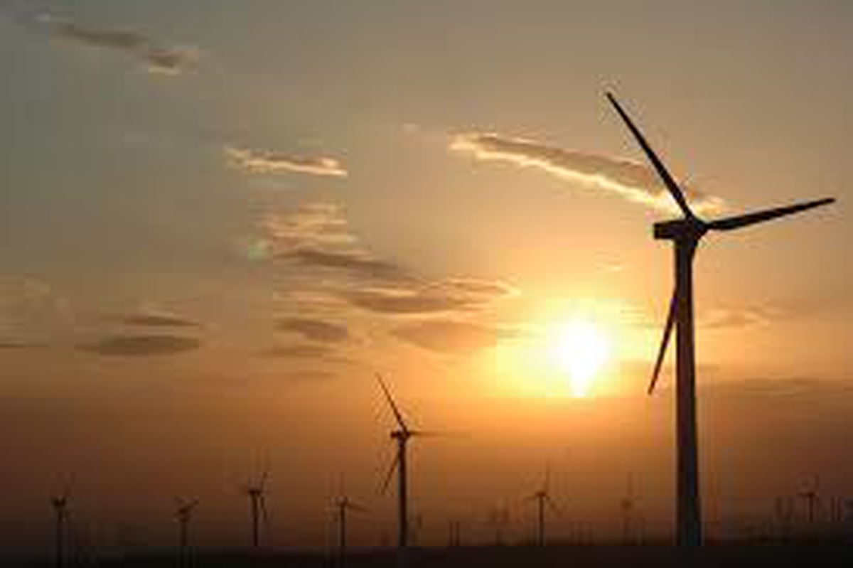 Wind farms will play a part in green industry