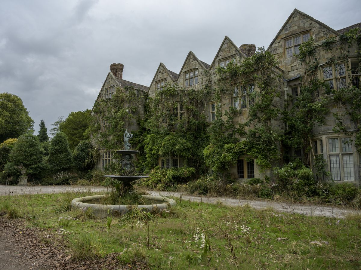 Benthall Hall, Broseley, 'wilded' for the film