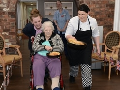 Flipping good Shrove Tuesday for Shrewsbury care home residents