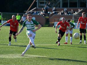 Declan McManus scores a penalty.