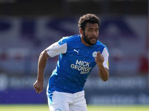 Peterborough's Nathan Thompson reported an allegation of racist abuse.