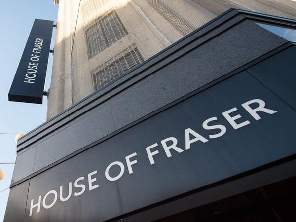 Four more House of Fraser stores face closure