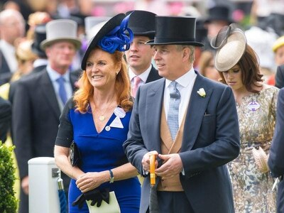 Duchess of York sends birthday wishes to 'best looking' ex-husband Andrew