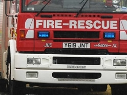 Fire crews tackle motorcycle fire and car fire