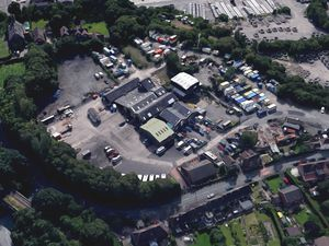 An aerial view showing Doseley Industrial Estate in Telford. Photo: Google