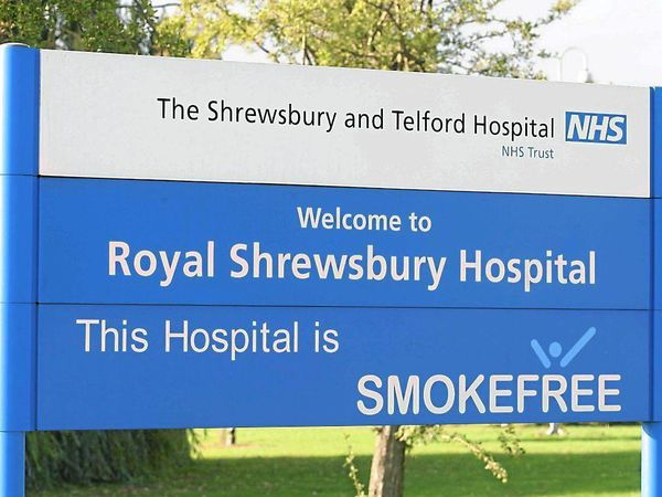 Royal Shrewsbury Hospital stock