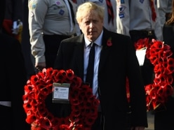 Boris Johnson in promise to armed forces during Midlands visit
