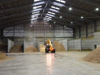Ellesmere-based Tudor Griffiths Group opens new biomass plant and drying warehouse