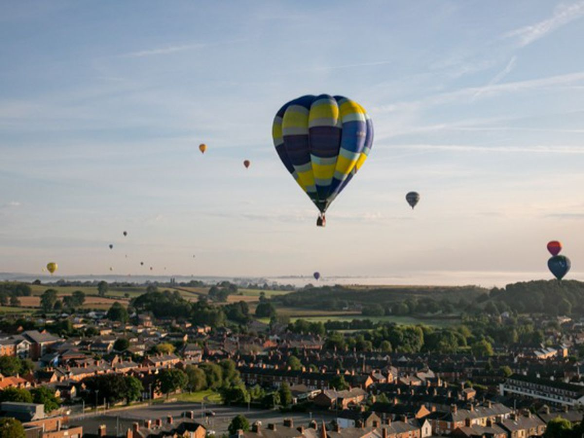 The 2019 Oswestry Balloon Carnival