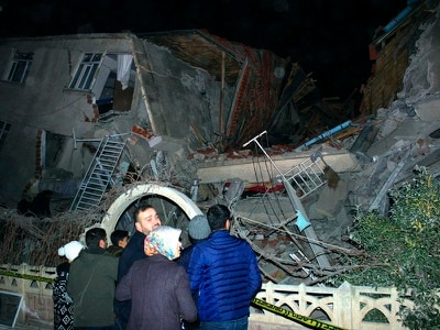 At least 18 dead as earthquake shakes eastern Turkey
