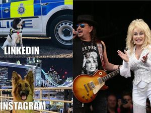 British Transport Police's meme effort, and Dolly Parton at Glastonbury in 2014