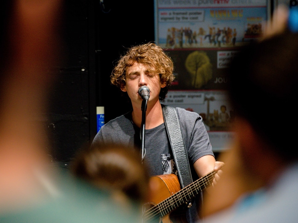 Shrewsbury singer Dan Owen proud to come back and play to home town crowds - with video