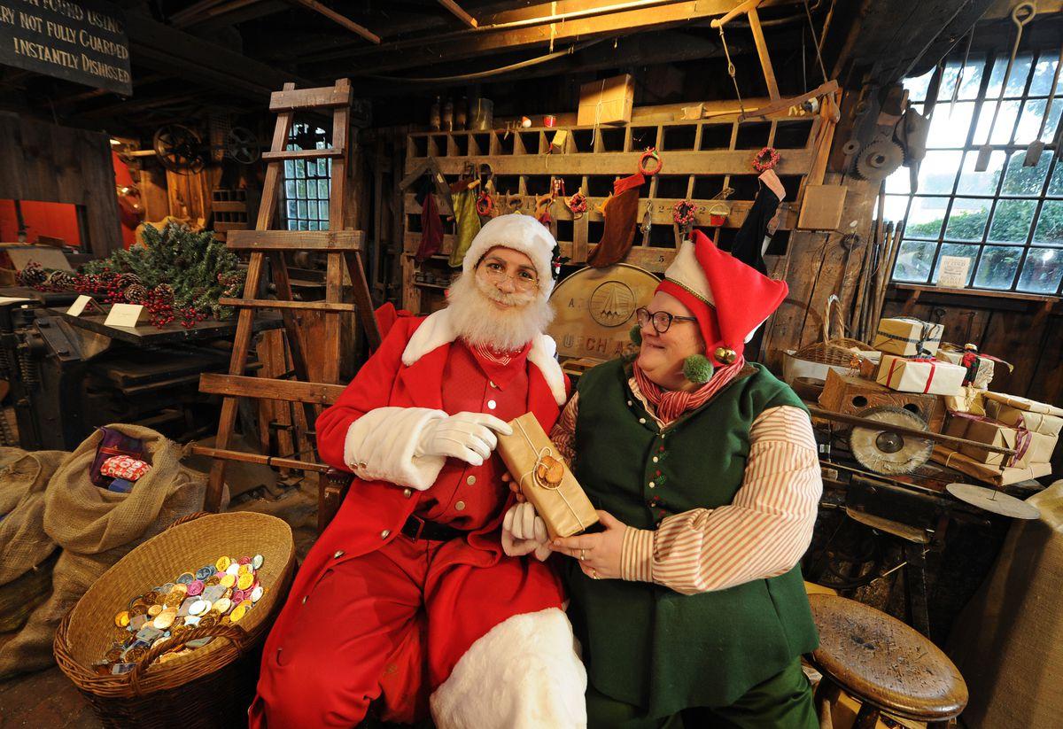 Inside the Santa and Elves Workshop