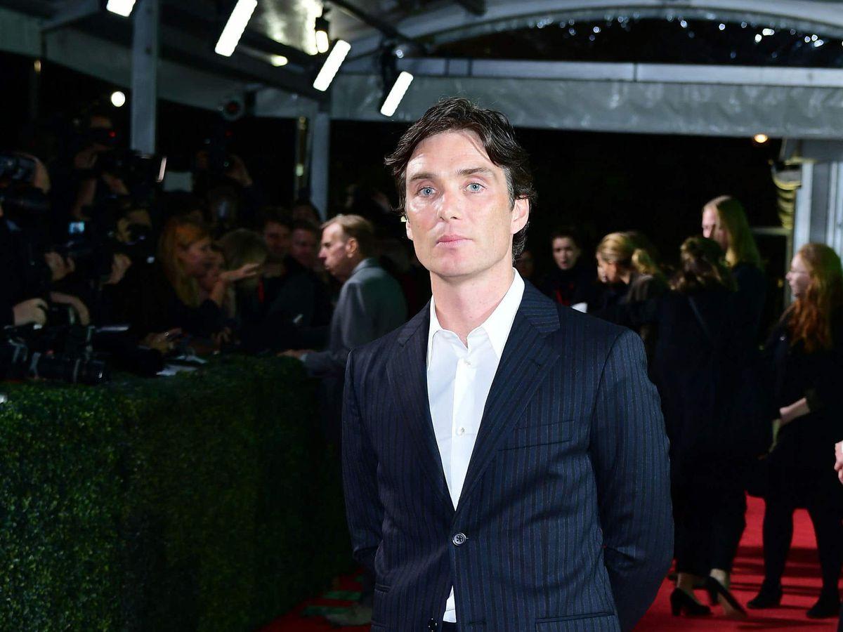Cillian Murphy at a film premiere