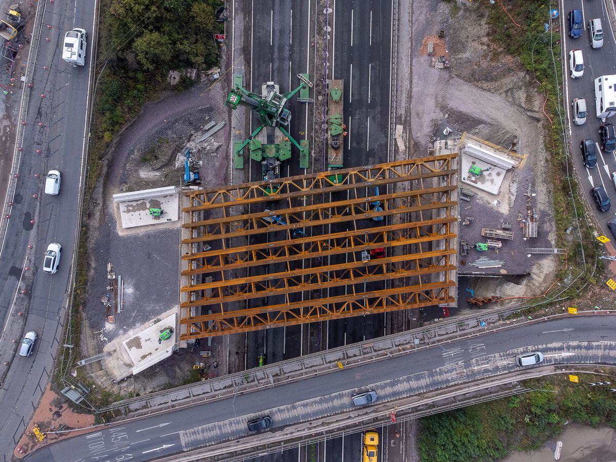 The bridges are being built in a bid to reduce congestion in the area. Photo: Paul Turner