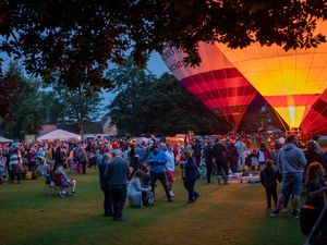Oswestry Balloon Carnival. Photo:  Daniel Funcke.