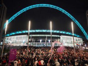 Italy v England at Wembley