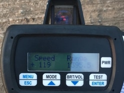 Motorist clocked driving past police at 119mph near Wellington
