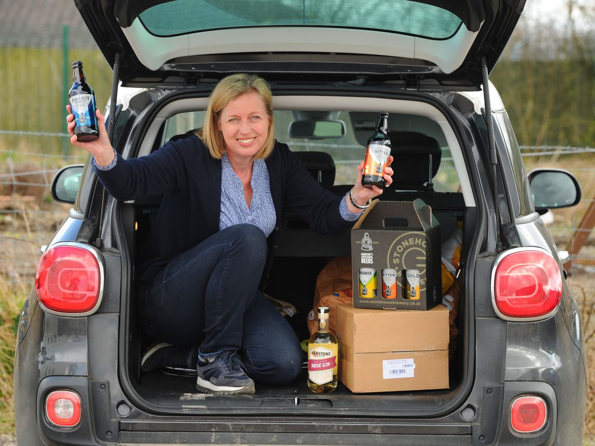 Director Alison Parr at Stonehouse Brewery and Henstone Distillery