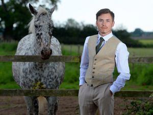 Country gent - Designer Jordan Bridgewater has fashioned a future out of tweed