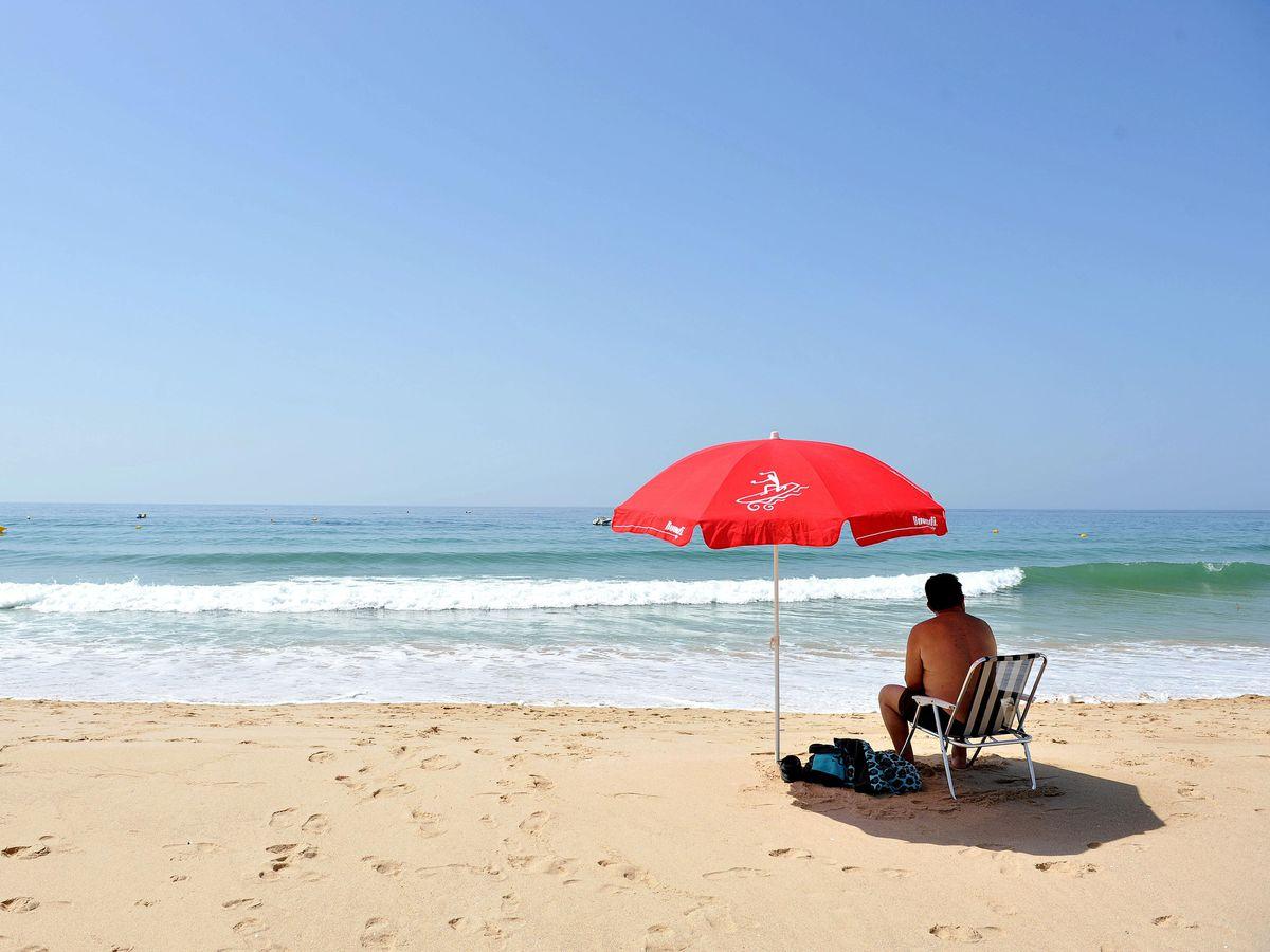 A beach in Portugal