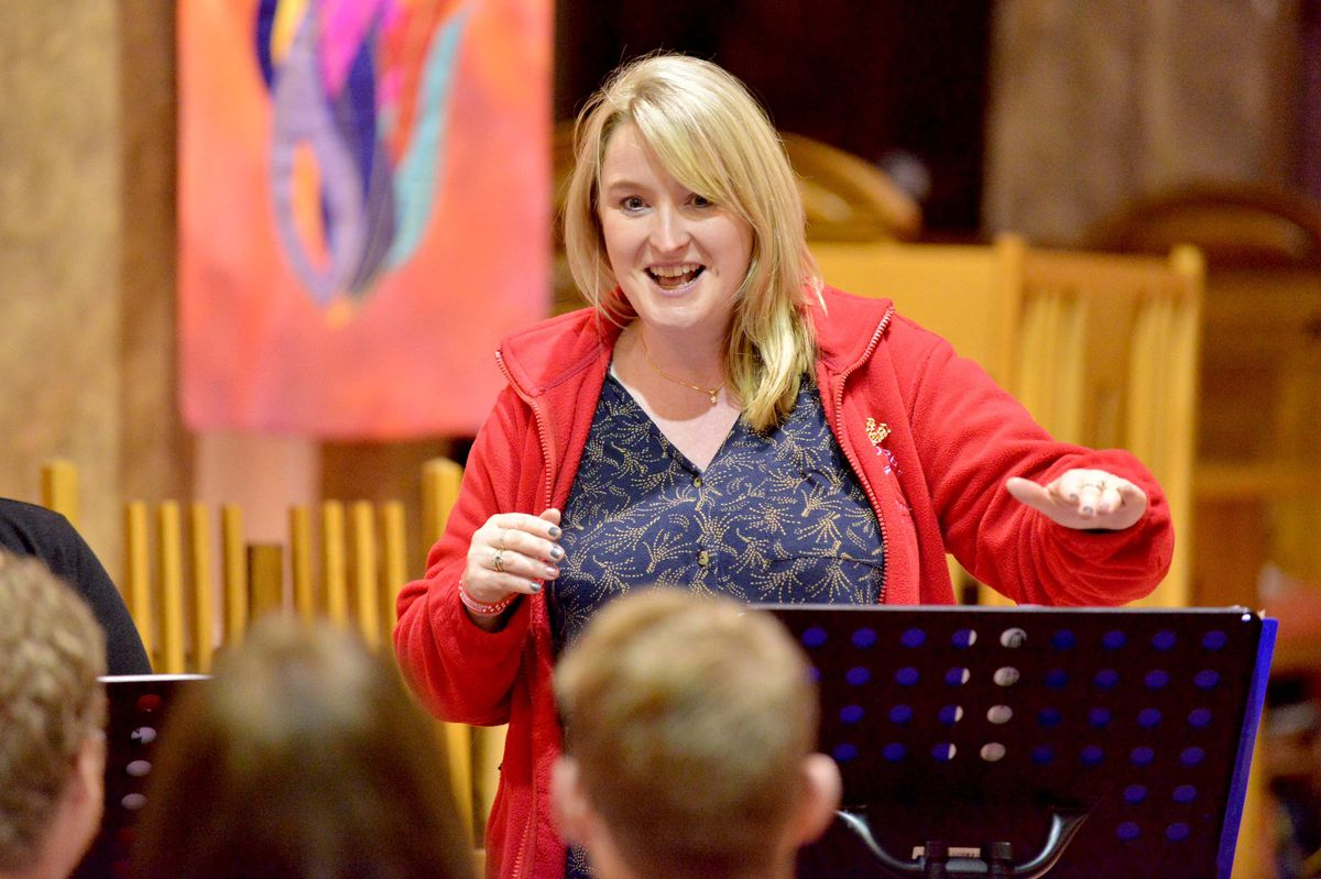 Musical director Lorna Parkhouse