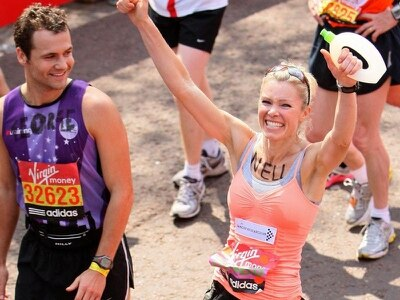 Nell McAndrew 'often thought about pulling out' of this year's London Marathon