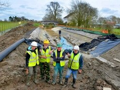 Canal restoration by muddy marvels - with video