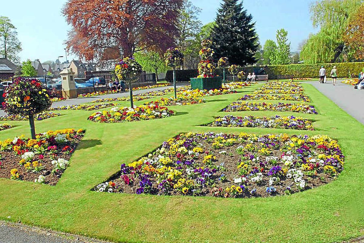 Cae Glas Park in Oswestry