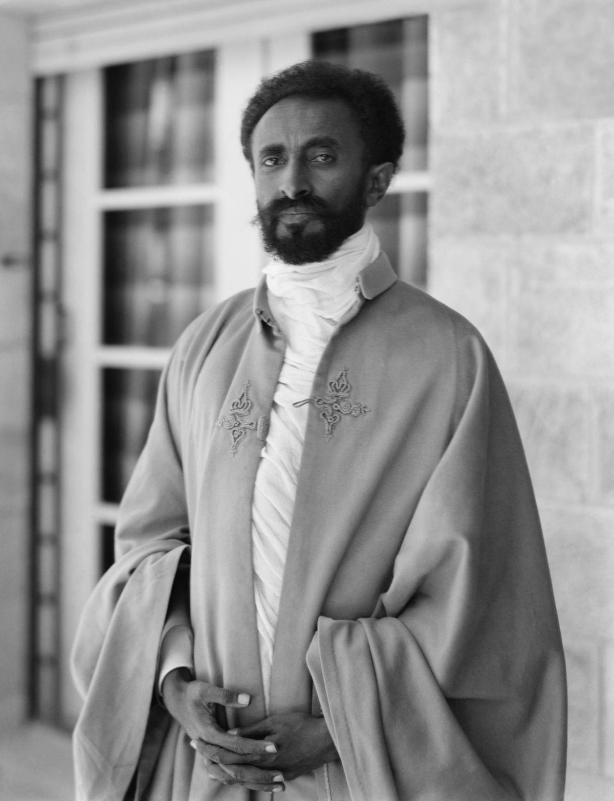 Haile Selassie.