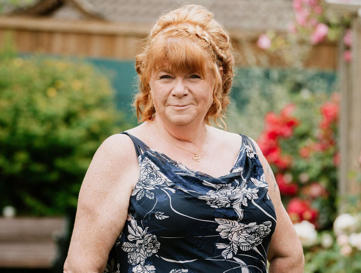 Liz has lost more than four stone