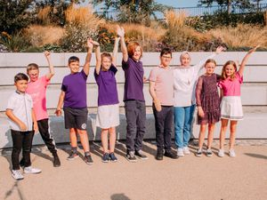 The 'Harmonies of Hope' children's choir